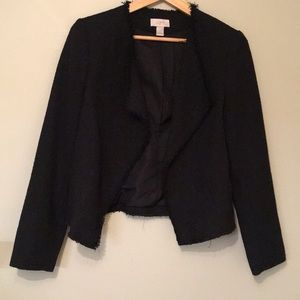 Black tweed blazer